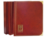 Кляссер серии ROYAL с 40 чёрными страницами. 1151- H. Коричневый.