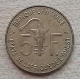 Западная Африка (BCEAO) 5 франков, 1972 г., фото №3