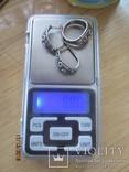 Кольцо и серьги серебро 875 звезда cccp, фото №12