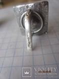 Жемчуг белый, серебро 925, комплект кольцо и серьги,, фото №9