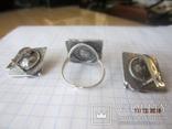 Жемчуг белый, серебро 925, комплект кольцо и серьги,, фото №11