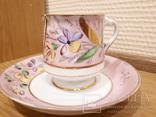 Чашка с блюдцем . М. С. Кузнецова. Въ день ангела. photo 2