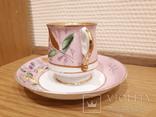 Чашка с блюдцем . М. С. Кузнецова. Въ день ангела. photo 3