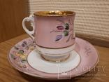 Чашка с блюдцем . М. С. Кузнецова. Въ день ангела. photo 4