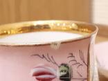 Чашка с блюдцем . М. С. Кузнецова. Въ день ангела. photo 9