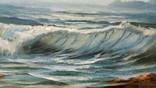 Волна, подписной. photo 2