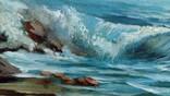 Волна, подписной. photo 5