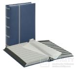 Кляссер серии Elegant 64 чёрными страницами. 1179 - B. Синий.