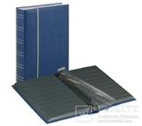 Кляссер серии Elegant Nubuk с 60 чёрными страницами. 1181 - B. Синий.