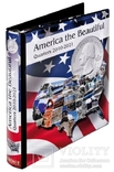 Иллюстрированный альбом для квотеров серии America the besutiful. Lindner 1106 abq.