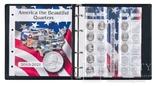 Иллюстрированный альбом для квотеров серии America the besutiful. Lindner 1106 abq. фото 2