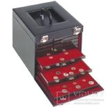 Кейс для монет (в боксах), искусственная кожа.Mbko 10 303239