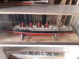 """Пассажирский лайнер """"Мавритания"""" 1:700 (Airfix) + футляр, фото №2"""