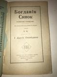 1921 Син Богдана Хмельницького Українська книга, фото №10