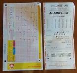Лотерейные билеты LOTTO 6 aus 49 (Германия - Берлин) 2013 год №№ 1575214, фото №2