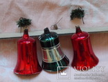 Три колокольчика производства ГДР. 60 - е годы., фото №8