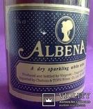 Вино ALBENA. A dry sparkling white wine. Производитель - UK., фото №5