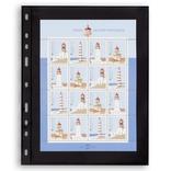 Лист к альбому Leuchtturm, Optima, 2x1 делений по 180 x 245 мм, черный, 1S.326667 фото 2