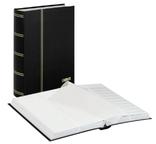 Кляссер Standard с 64 белыми страницами. 1167 - S. Чёрный.