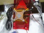 Вентилятор от компа (?)и кабели(всё что было в коробке). photo 3