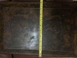 Большая шкатулка из карельской берёзы, царизм, фото №10