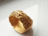 Римский перстень с геммой . Инталия .I-II век., фото №10