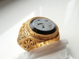Римский перстень с геммой . Инталия .I-II век., фото №12