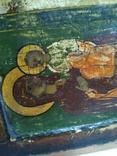 Старинная икона 18-19 век. Размер 26 х 30 см. photo 10