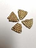 Старинные элементы украшения из золота
