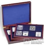 Кассета для 24 сертифицированных капсул для монет Leuchtturm. Hmk3t24usk. 309278