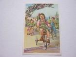 Дети на велосипедах старый Китай, фото №2