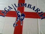 Lega Lombarda - флаг банер, фото №6