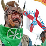 Lega Lombarda - флаг банер, фото №8