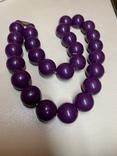 Фиолетовые бусы photo 1