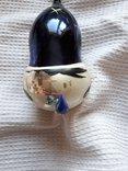 Елочная игрушка редкая большая голова клоуна арлекино, фото №7