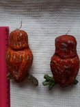 Елочная игрушка две совы филина цена за оба, photo number 10