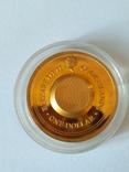 1 доллар о. Кука, 2003, Стрелец позолота+топаз