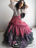 Кукла паричковая СССР цыганка Аза, фото №5