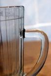 Пивной бокал  (пивная кружка) САЗ. 1966 год. 0,5 литра.20  прямых граней, фото №5