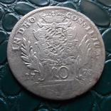 10 крейцеров 1773  Бавария  серебро   (Э.6.1)~, фото №2