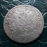 10 крейцеров 1773  Бавария  серебро   (Э.6.1)~, фото №3
