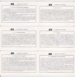 Карточки Либиха 6 шт. Брилат Саварин, фото №3