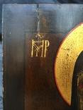 Икона БМ из деисусного чина, фото №4