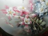 Настенная декоративная тарелка фарфор Колибри Lena Liu's photo 3