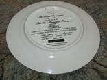 Настенная декоративная тарелка фарфор Колибри Lena Liu's photo 11