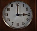 Часы будильник старинные кабинетные настольные I.Klubpreis Германия, фото №3