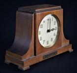Часы будильник старинные кабинетные настольные I.Klubpreis Германия, фото №5