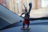 "Воїн з крилами ""штам М 132"" 8 см. висота. 91 гр. вага., фото №5"