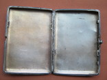 Портсигар серебро 84., фото №5