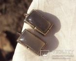 Серьги на закрутках, серебро., фото №9